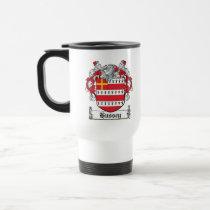Hussey Family Crest Mug