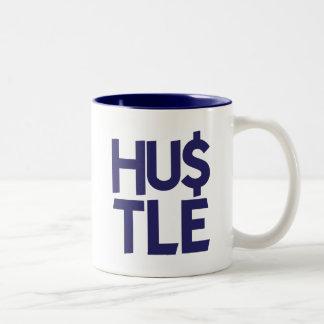 Hustle - Blue Coffee Mug