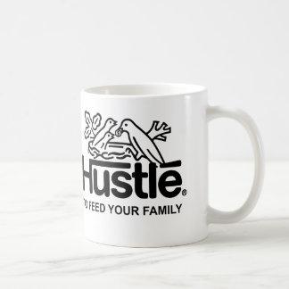 Hustle brand coffee mug