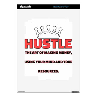 HUSTLE DECALS FOR THE iPad 2