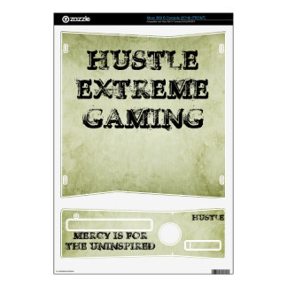 HUSTLE Extreme Gaming Xbox360 Console Skin Xbox 360 S Console Skins