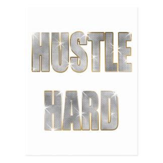 Hustle Hard Postcard