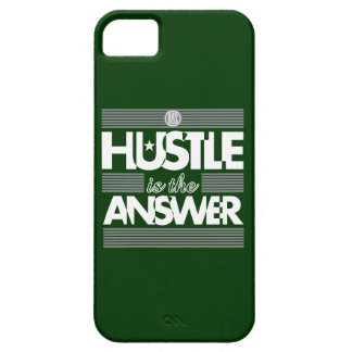 HUSTLE IS THE ANSWER iPhone SE/5/5s CASE