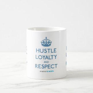 Hustle Loyalty Respect  11 oz Classic White Mug