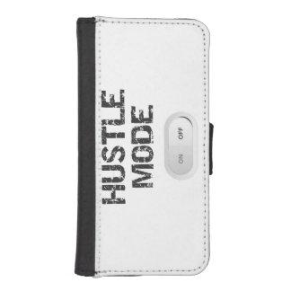 Hustle Mode On iPhone SE/5/5s Wallet Case