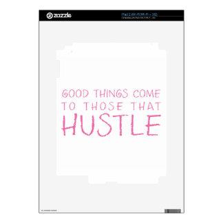 Hustle Pink iPad 2 Decal