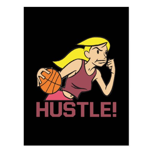 Hustle Post Card