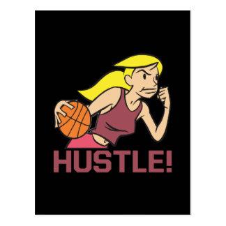 Hustle Postcard