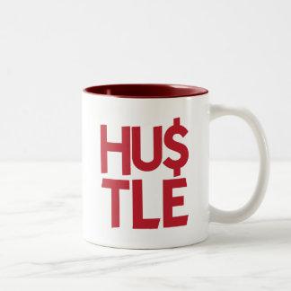 Hustle - Red Mugs