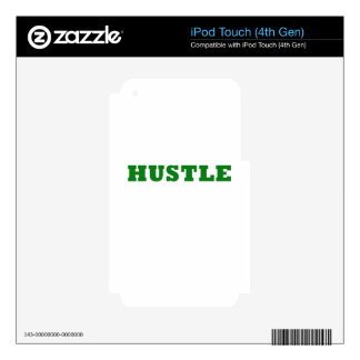 Hustle Skins For iPod Touch 4G