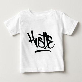 hustle typography baby T-Shirt