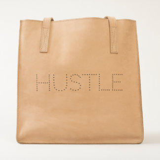 Hustle Typography Tote