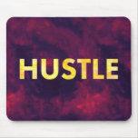 Hustle Watercolor Modern Typography Mousepad
