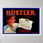 Hustler Bartletts Poster