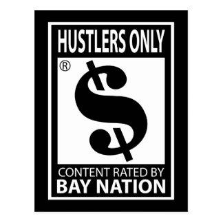 Hustlers Only Postcard