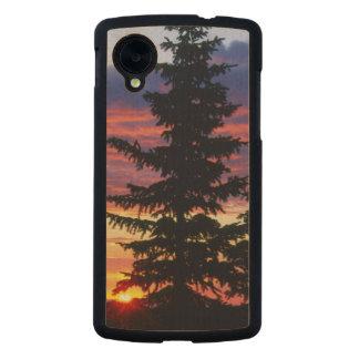 HUSTON PARK WILDERNESS, WYOMING. USA. Spruce Carved® Maple Nexus 5 Case