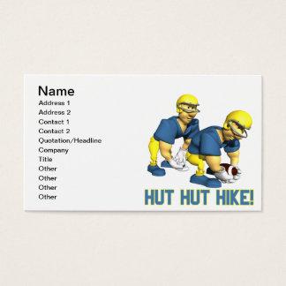 Hut Hut Hike Business Card