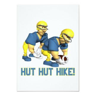 Hut Hut Hike Card