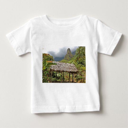 Hut in Iao Valley State Park, Maui, Hawaii Baby T-Shirt