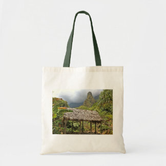 Hut in Iao Valley State Park, Maui, Hawaii Canvas Bag