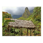 Hut in Iao Valley State Park, Maui, Hawaii Postcard