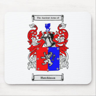 Hutchinson Coat of Arms Mouse Pad