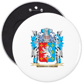 Hutchinson-England Coat of Arms - Family Crest Buttons