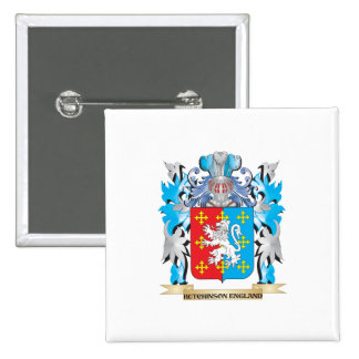 Hutchinson-England Coat of Arms - Family Crest Pins