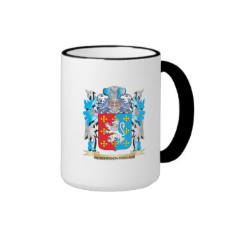 Hutchinson-England Coat of Arms - Family Crest Mugs