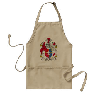 Hutchinson Family Crest Adult Apron