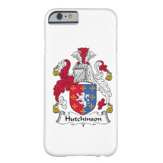 Hutchinson Family Crest Barely There iPhone 6 Case