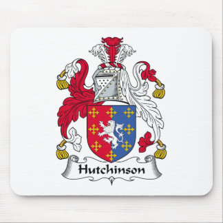 Hutchinson Family Crest Mouse Pad