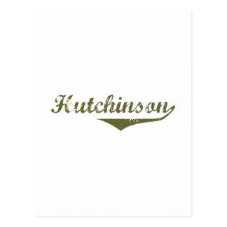 Hutchinson  Revolution t shirts Postcard