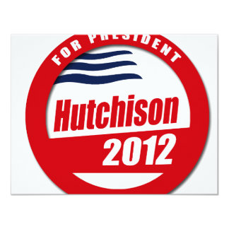Hutchison 2012 4.25x5.5 paper invitation card