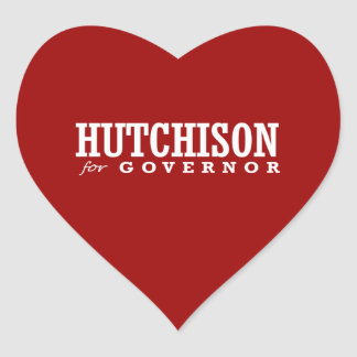 HUTCHISON FOR GOVERNOR 2014 STICKER