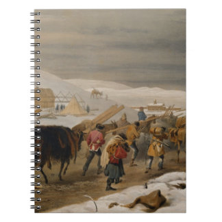 Huts and Warm Clothing for the Army, plate from 'T Note Books