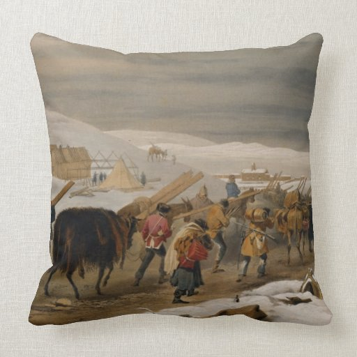 Huts and Warm Clothing for the Army, plate from 'T Pillow