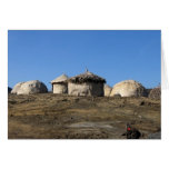 Huts in East-Africa Greeting Cards