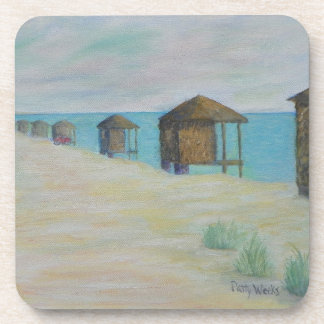 HUTS ON THE BEACH Coasters