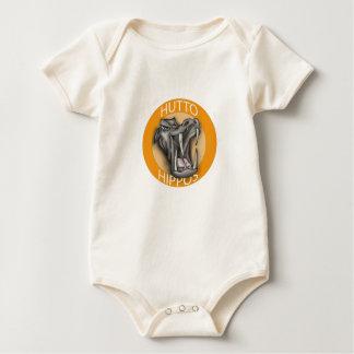 Hutto Hippo Baby Bodysuit