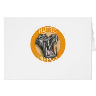 Hutto Hippo Card