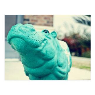 Hutto Hippo ! Postcard