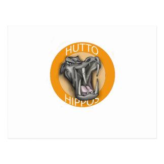 Hutto Hippo Postcard