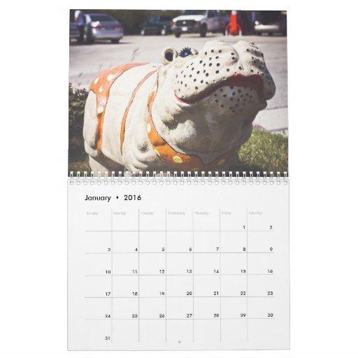 Hutto Tejas… la única ciudad con un H… Calendarios