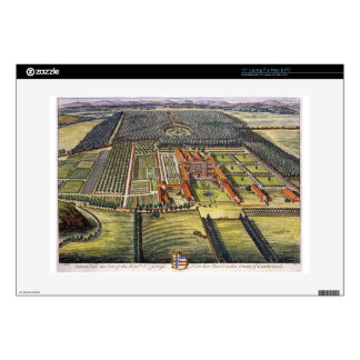 Hutton Hall in the county of Cumberland engraved b Skin For Laptop