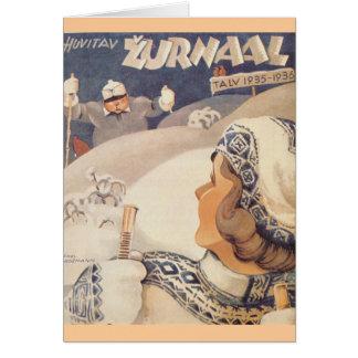 Huvitav Zurnaal, Winter Edition 1935-1936 Card