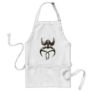 huwawa subdued adult apron