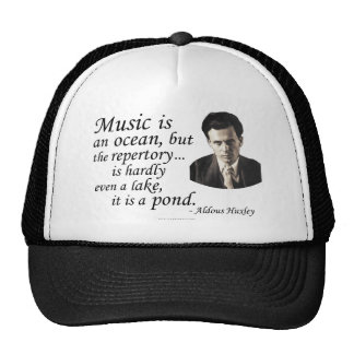 Huxley on Music and Water Trucker Hat