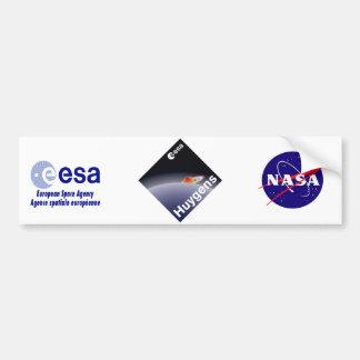 HUYGENS: Probe to Titan Car Bumper Sticker