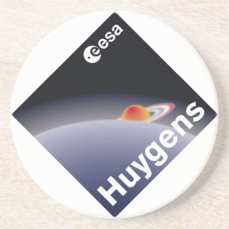 HUYGENS Probe to Titan Beverage Coaster